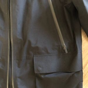 lululemon athletica Jackets & Coats - Lululemon Black Waterproof Rain Jacket - 4